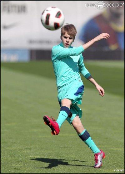 Justin et le foot