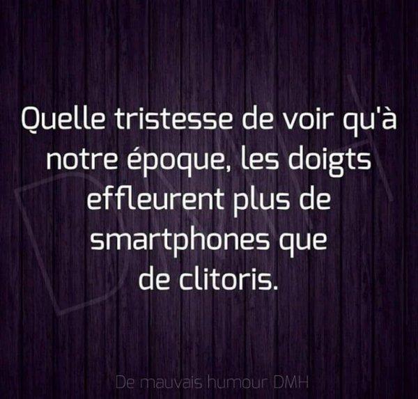 Smartphones ou clitoris