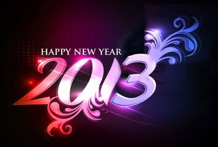 Bonne Années 2013