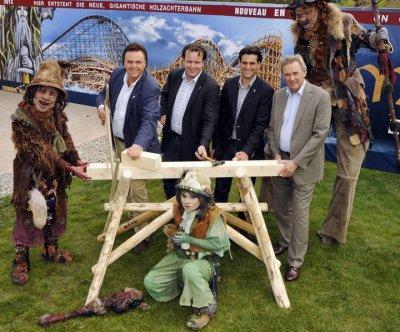 Europa park 2012: une montagne russe en bois!!!