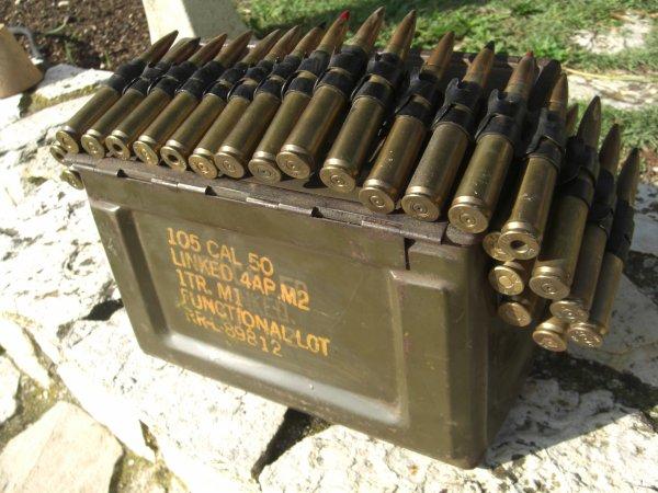 .Différentes caisses à munitions !