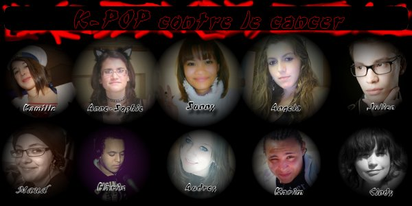 le groupe facebook k-pop contre le cancer
