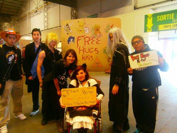 Free Hugs pour la tolérance
