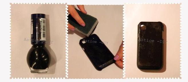 TUTO : Coque de téléphone personnalisée/ customisation téléphone