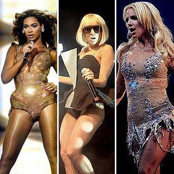2011:  Britney/Beyonce/Lady Gaga, le choc au féminin!