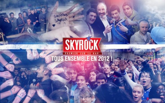 Skyrock 2012: Belle image!