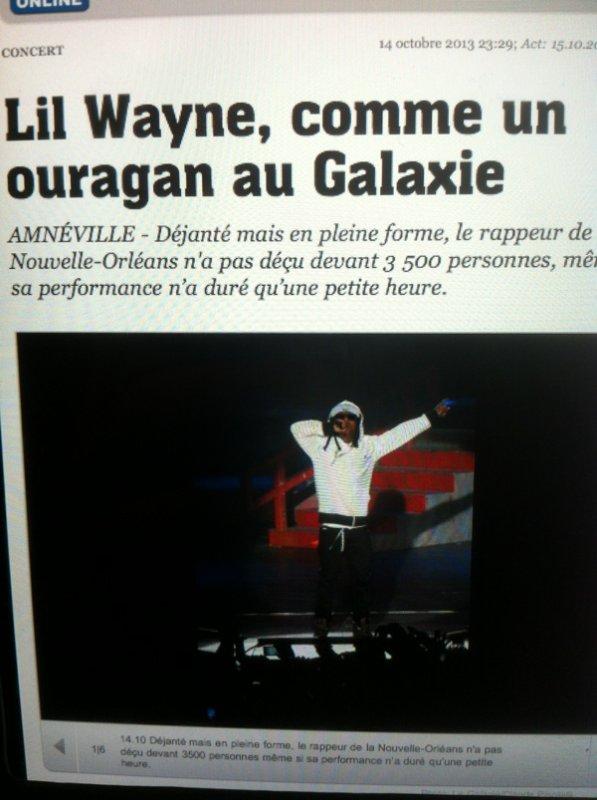 Lil Wayne au galaxie avec Skyrock