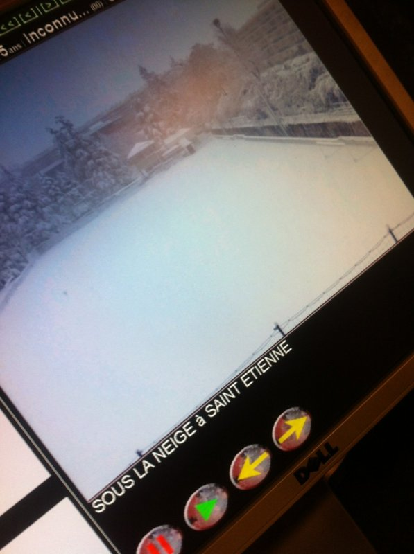 Nathan de st Étienne sous la neige (Auditeur Skyrock)