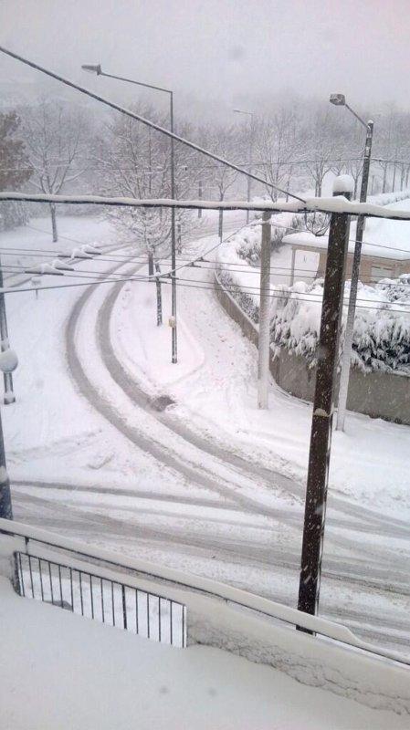 Sev sous la neige à st Étienne