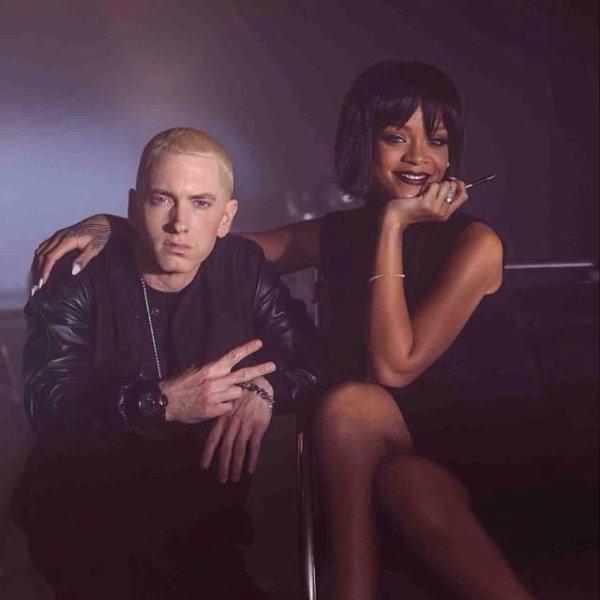 """Rihanna et Eminem sur le tournage de """"The Monster"""""""