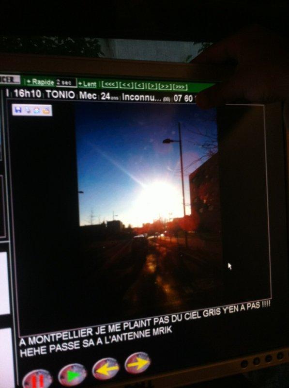 Tonio Montpellier au soleil! Et vous?