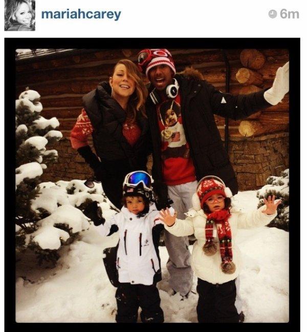 Mariah Carey : Noël en Famille!
