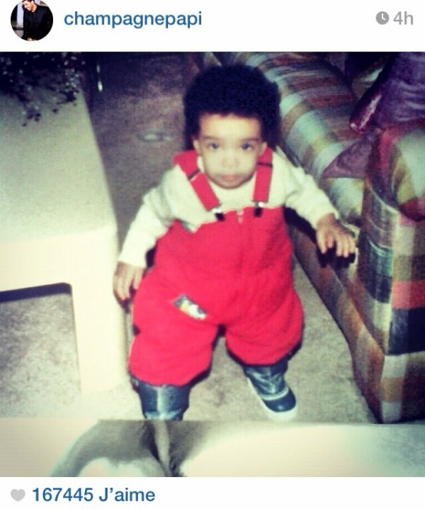 Photo de Drake enfant!