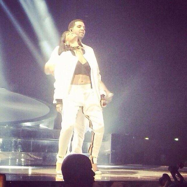 Rihanna et Drake à Bercy