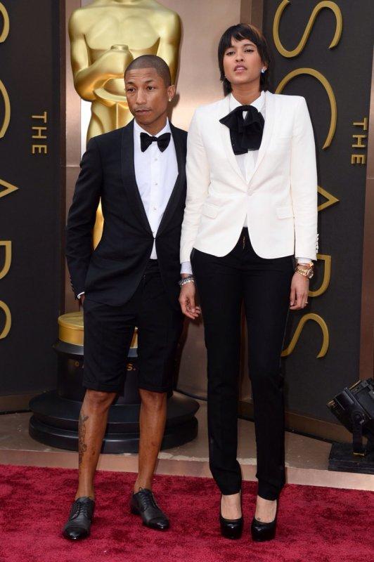 Le look de Pharrell aux Oscars