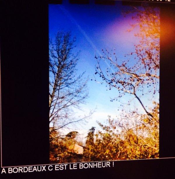 Mimi à #Bordeaux en mode soleil à l'écoute de #skyrock