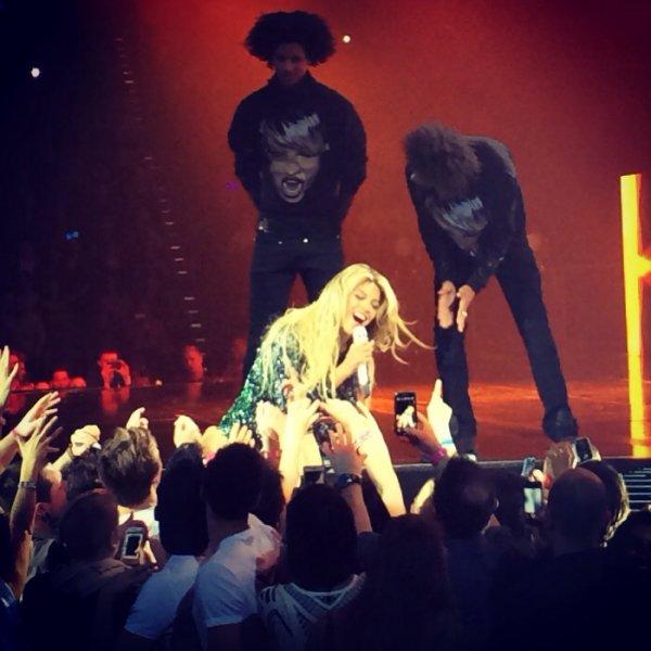Beyonce à Cologne (photo)