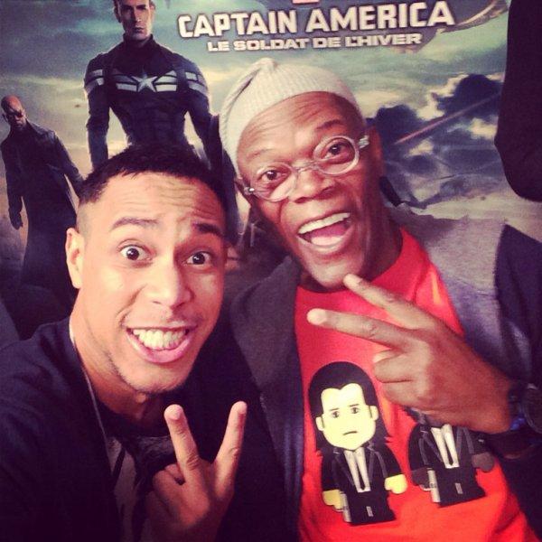 Avec Samuel L Jackson