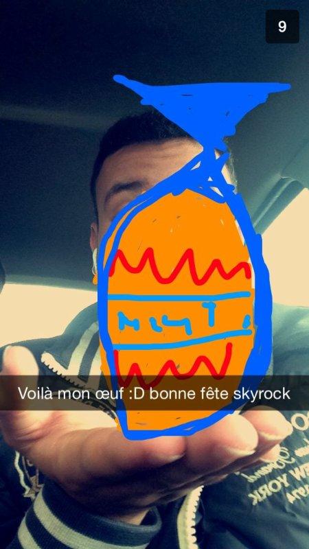 Snapchat de toxicomic en mode Pâques à Marseille