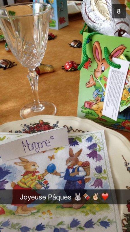 Morgane fête Pâques en écoutant Skyrock