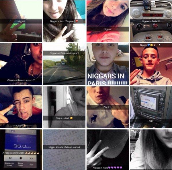 Les auditeurs du 16-20 sur le snap chat de Skyrock