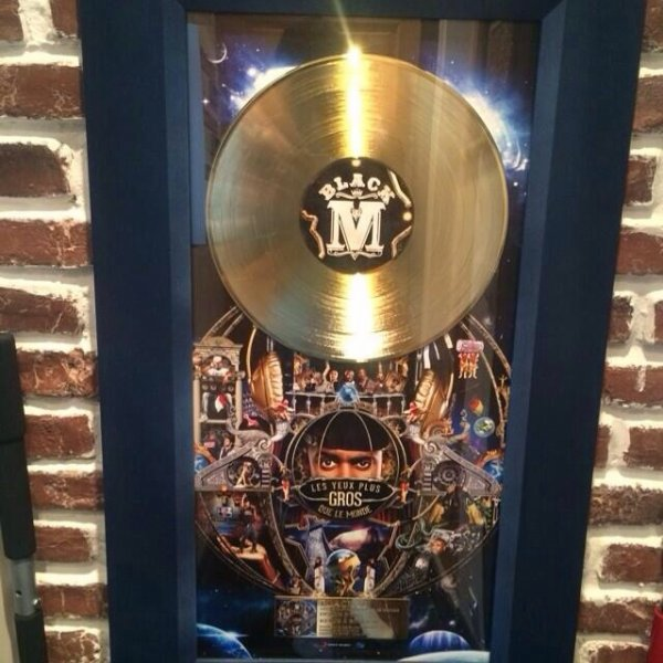 Le disque d'or de Black M