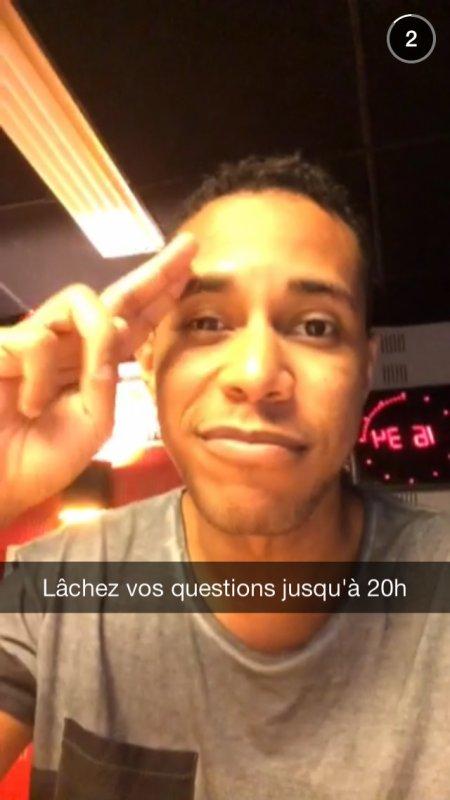 Je répond à toutes vos question sur snapchat jusqu'à 20h