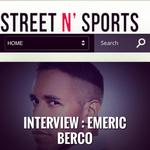Mon interview pour Street N Sports à lire!