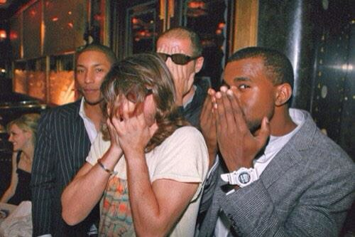 Photo collector : Pharrell, Kanye et les Daft Punk (oui oui!)