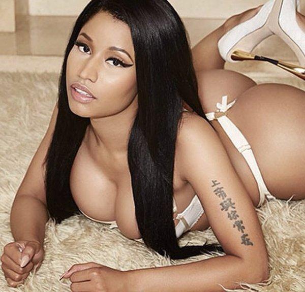 Tout le monde a froid sauf Nicki Minaj