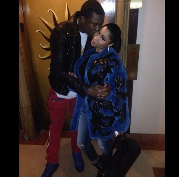 Nicki minaj en couple avec Meek Mill
