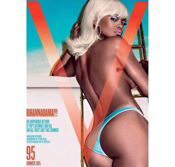 Rihanna en une de V Magazine