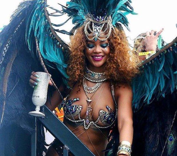 Rihanna au carnaval