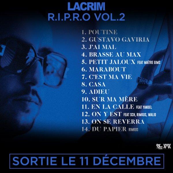 Tracklist de Lacrim