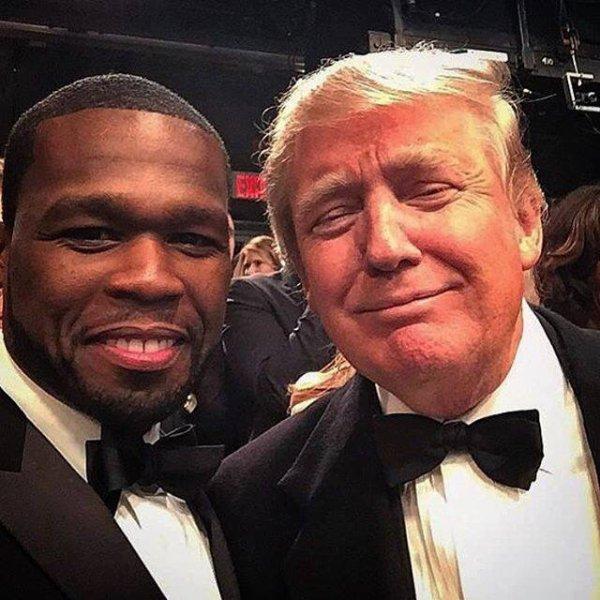 50 cent et Donald Trump