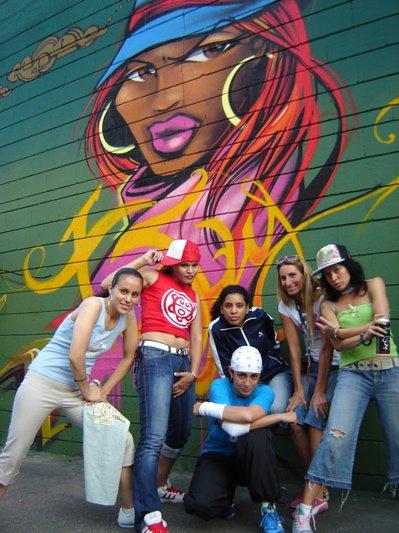 style hip hop girl