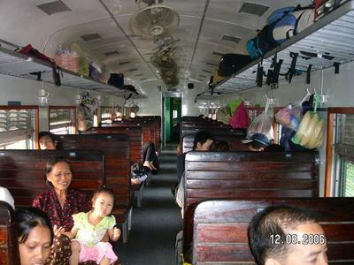 TRAIN DE HANOI VERS SAPA