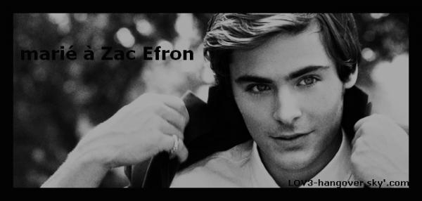 Episode 1 « marié avec Zac Efron » SAISON 1