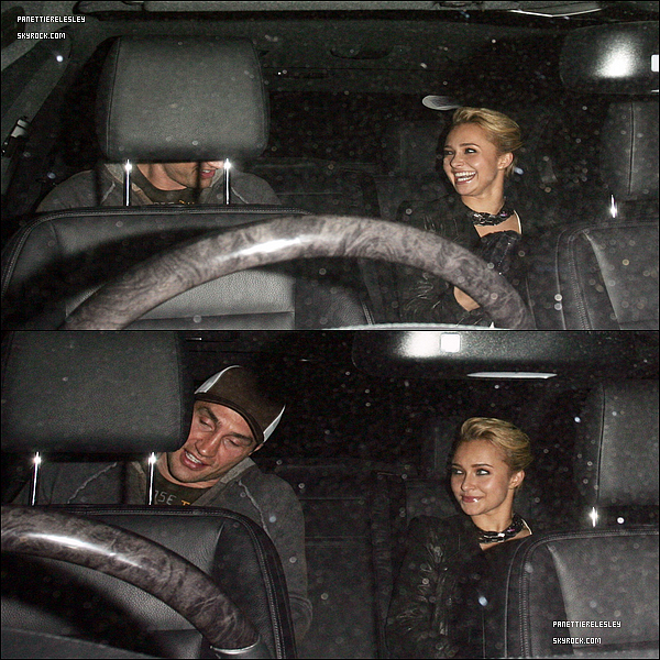 - 11.10 2010 Au Soir  :  Hayden et Wladimir Klitschko ont été vue quittant le Boujis nightclub à Londres. Côté tenue , Hayden nous impressionne , elle est tout simplement Sublime Top !   Qu'en pense tu ?-