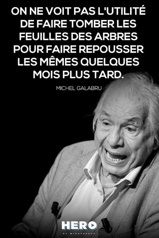 30 PUNCHLINES GÉNIALES DE MICHEL GALABRU   /     DE     1     A     4     A     SUIVRE.