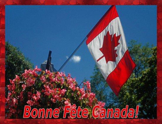 BONNE  FETE  A  NOS  PETITS  COUSINS  CANADIENS .........