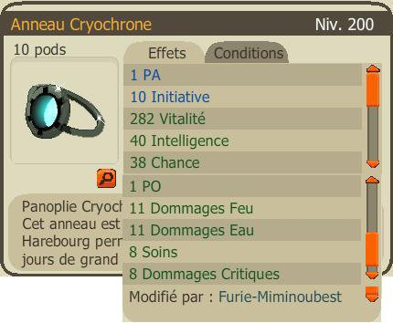 Anneau Cryochrone PA