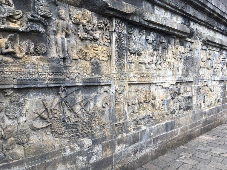 Les temples de Borobudur et Prambanan