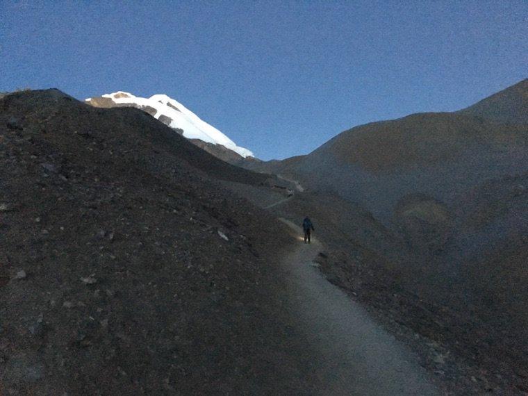 Trek - Passage du col