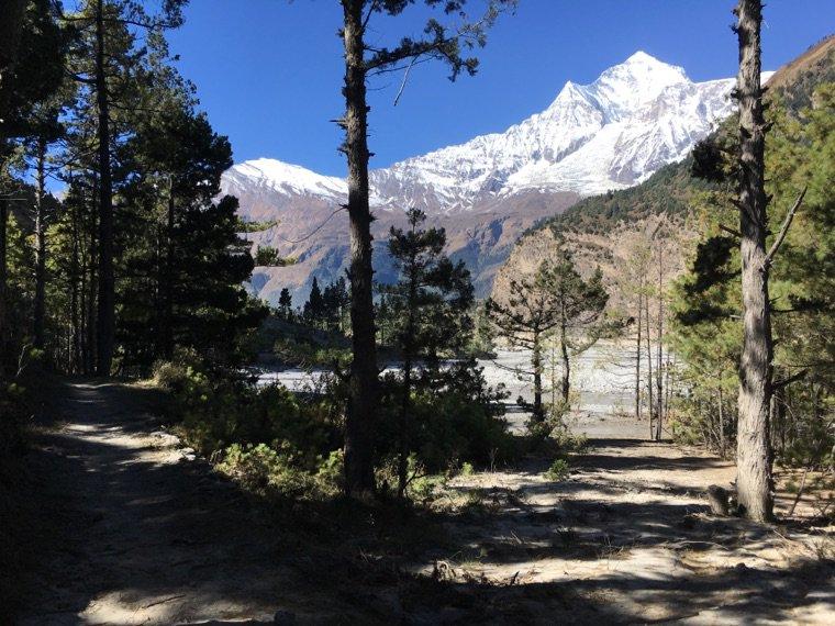 Trek - descente jusqu'à Ghasa