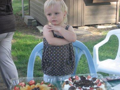 ma fille le jour de c 2 ans