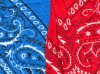 bleu ou rouge?