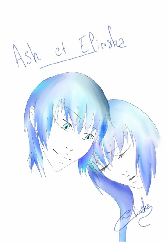 Ash et Elinska, Fée, Elinska Version Lion Disney - Vieux Dessins