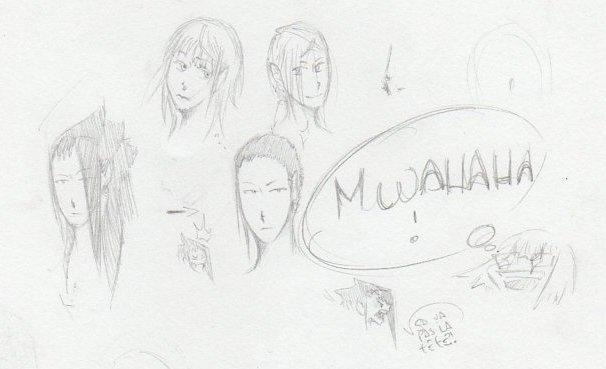 Akiko et Norio... Avec des chev-... Pas de cheveux !