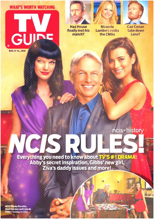 pauley cote and marck in TV GUIDE